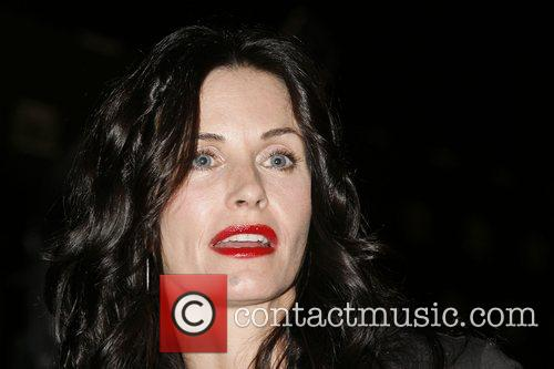 Courteney Cox Arquette Fallout 3 Videogame Launch Party...
