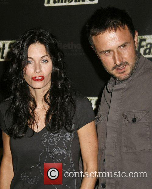 Courteney Cox Arquette and David Arquette Fallout 3...