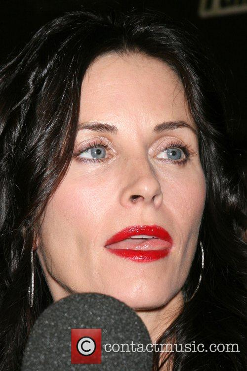 Courteney Cox  'Fallout 3' Videogame Launch Party...