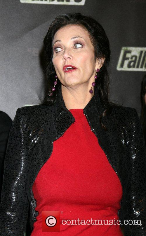 Lynda Carter  'Fallout 3' Videogame Launch Party...