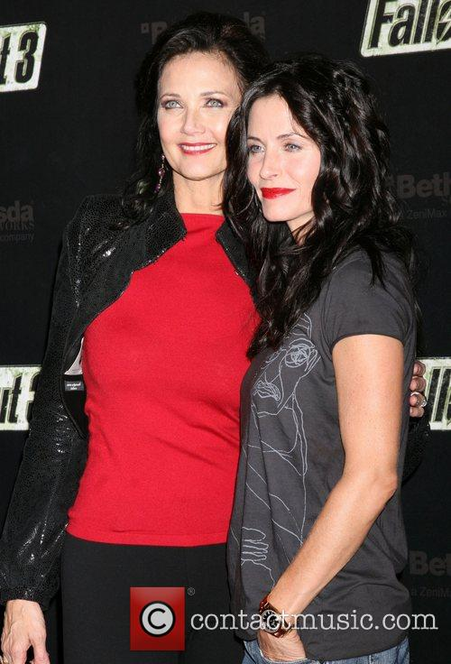 Lynda Carter and Courteney Cox  'Fallout 3'...
