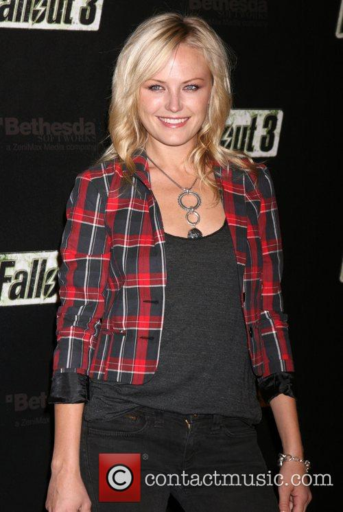 Malin Ackerman  'Fallout 3' Videogame Launch Party...