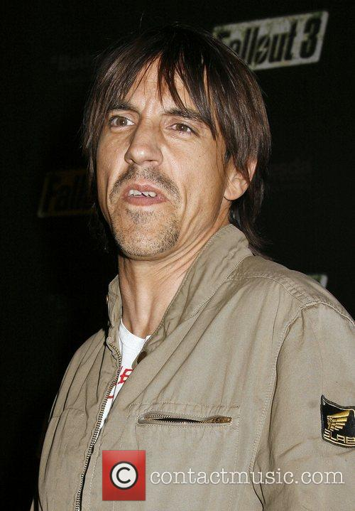 Anthony Kiedis Fallout 3 Videogame Launch Party held...