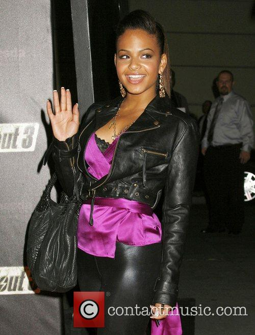 Christina Milian Fallout 3 Videogame Launch Party held...