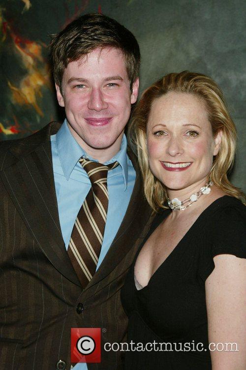 John Gallagher, Jr. and Kate Blumberg Opening Night...