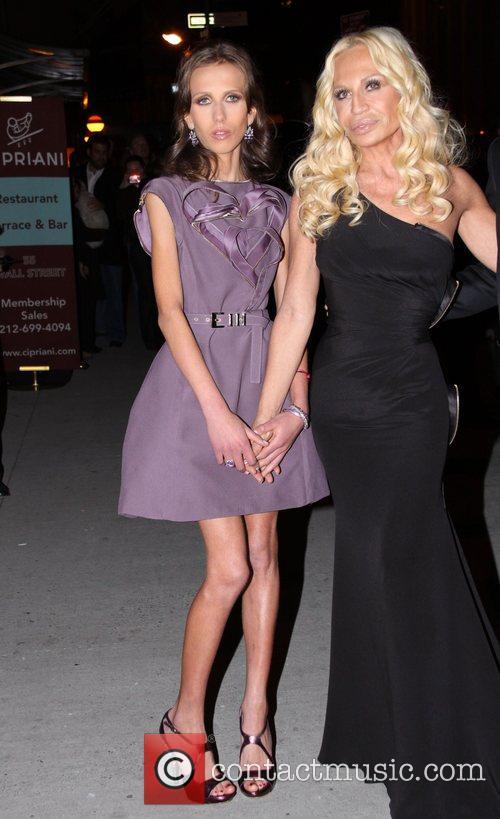 Allegra Versace and Versace 2