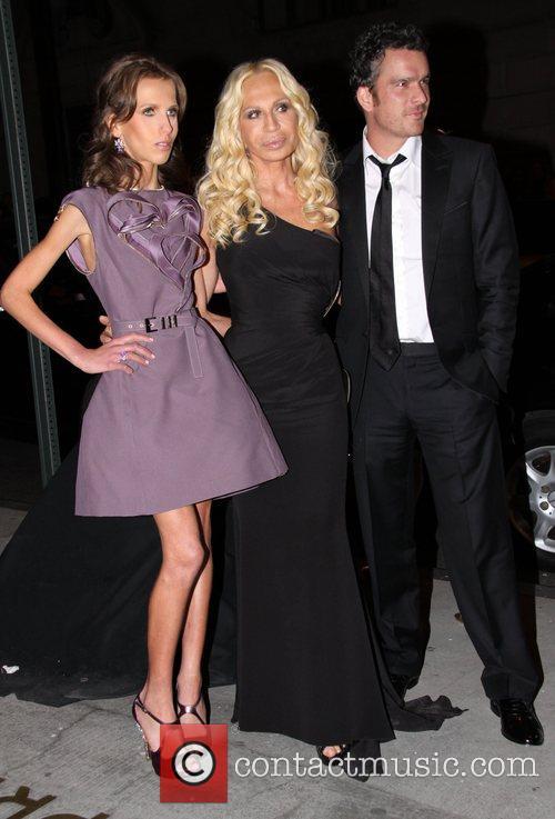 Allegra Versace, Donatella Versace and Versace 3