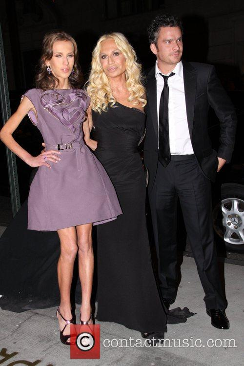 Donatella Versace, Allegra Versace and Versace