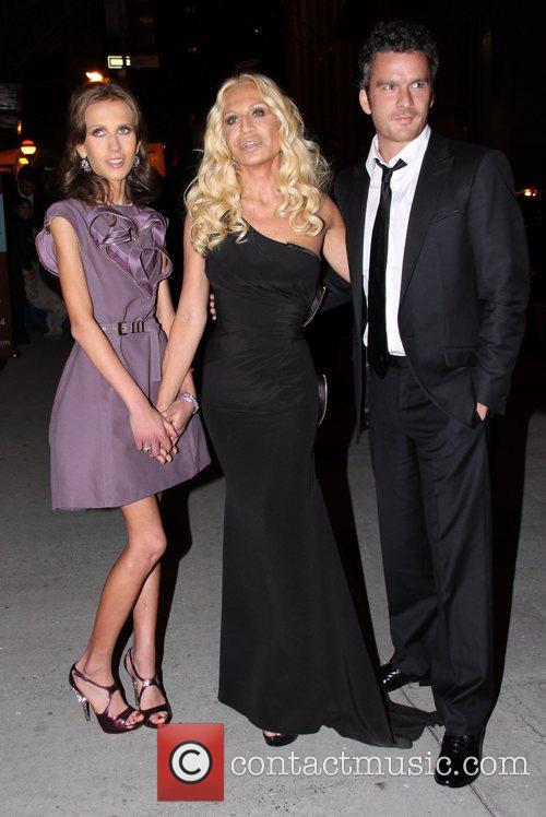 Allegra Versace, Donatella Versace and Versace 1