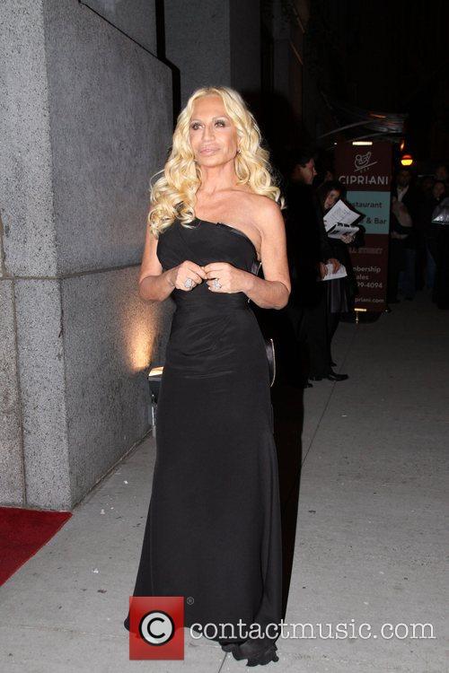 Donatella Versace Fashion Group International Night of the...