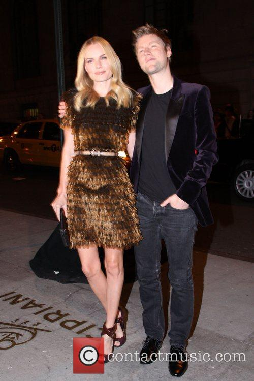 Kate Bosworth and Christopher Bailey Fashion Group International...