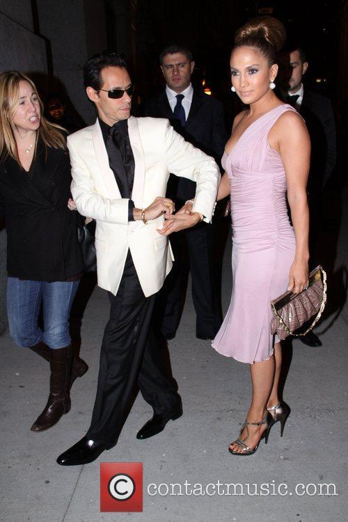 Marc Anthony and Jennifer Lopez Fashion Group International...