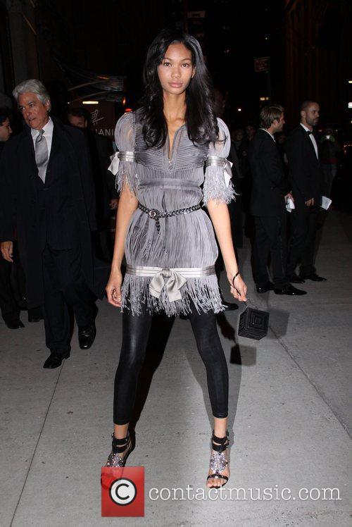 Chanel Iman Fashion Group International Night of the...
