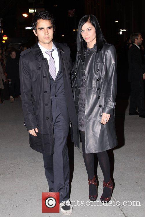 Max Minghella and Leigh Lezark Fashion Group International...