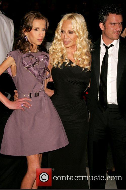 Allegra Versace, Donatella Versace and Versace 6