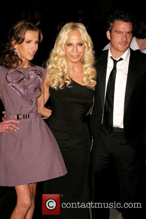 Allegra Versace, Donatella Versace and Versace 7