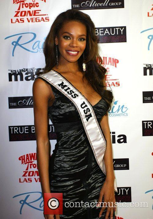 Crystle Stewart aka Miss USA 'Fashion Rocks The...