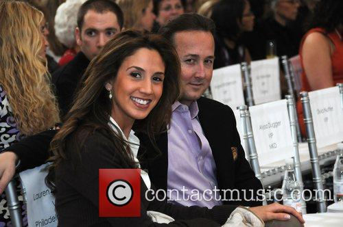 Lauren Dorsio and John Collabeli Nicole Miller and...