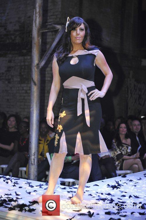 Candice Batista models designs by Damzels take to...