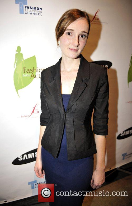 Designer Carrie Hayes at the 'Fashion Takes Action...