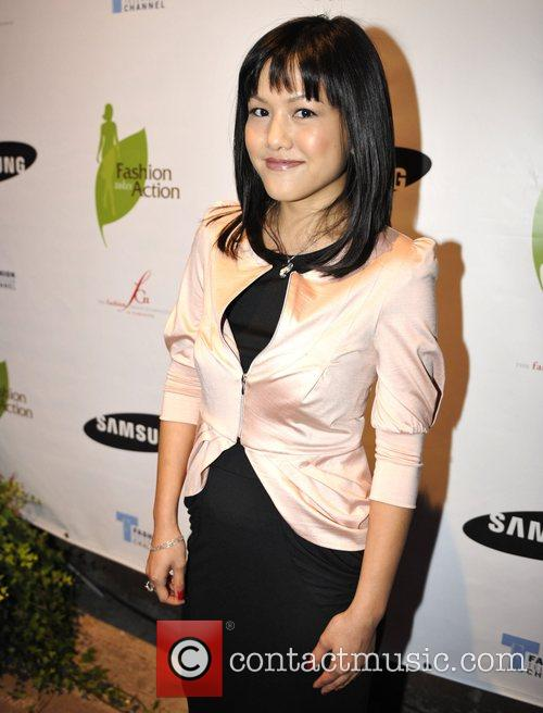 Designer Monica Mei at the 'Fashion Takes Action...
