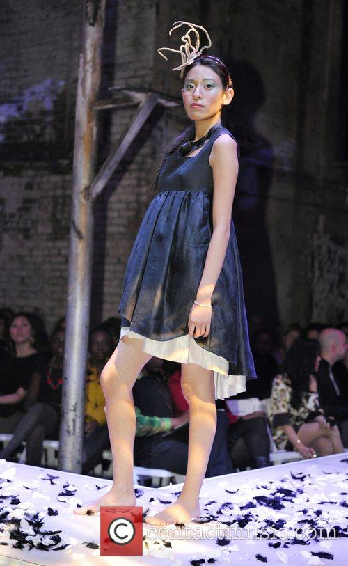 Fashion Designs by Nada Yousif at the 'Fashion...