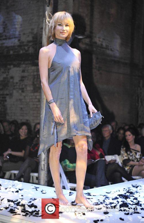 Moe Kelso models designs by Thieves at the...