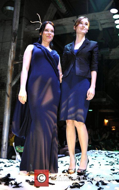Tarra Slone and Carrie Hayes at the 'Fashion...