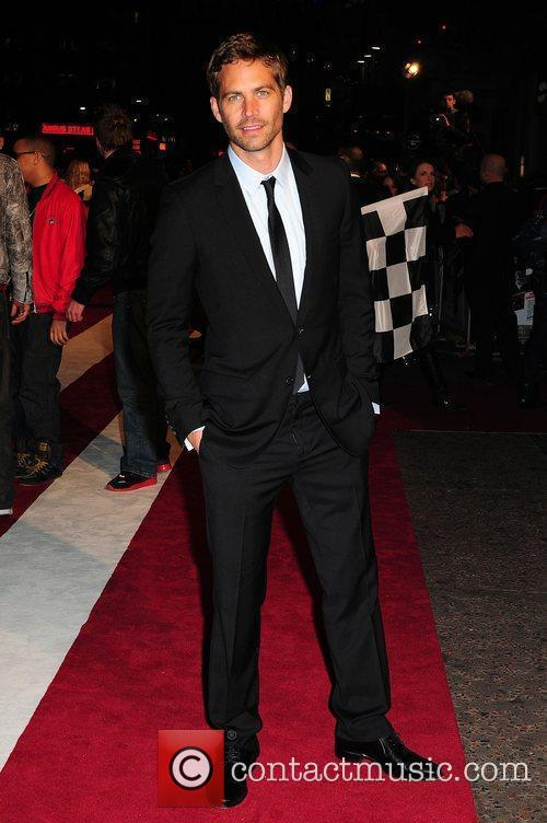 Paul Walker Red Carpet Fast & Furious