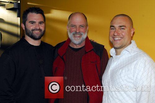 Producer Brian Matthews, Director Nick Briscoe and Paul...