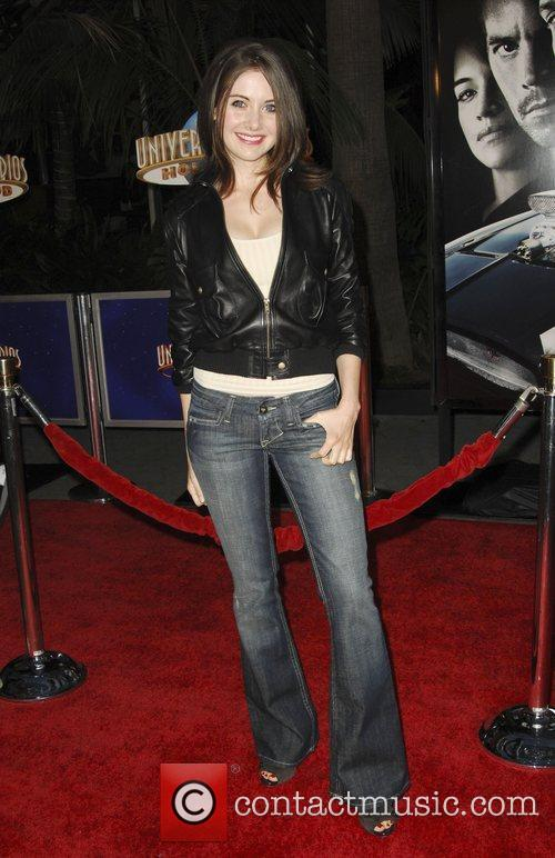 Alison Brie World Premiere Of 'Fast & Furious'...