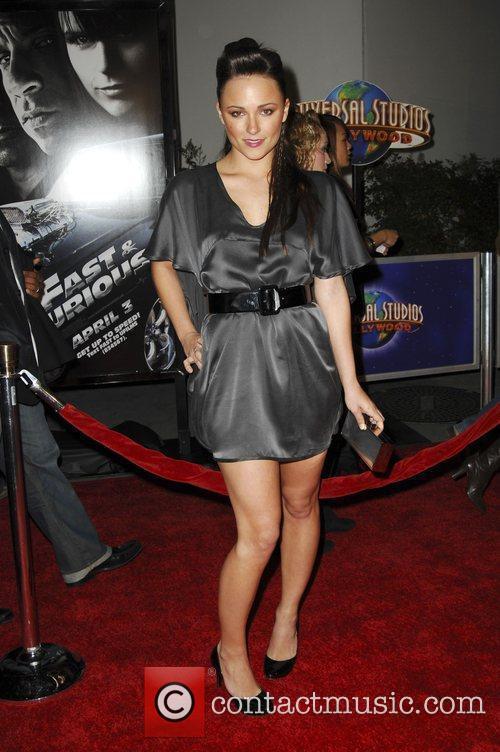 Brianna Evigan World Premiere Of 'Fast & Furious'...