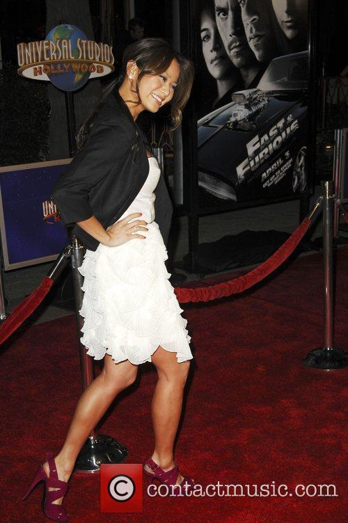 Jamie Chung World Premiere Of 'Fast & Furious'...