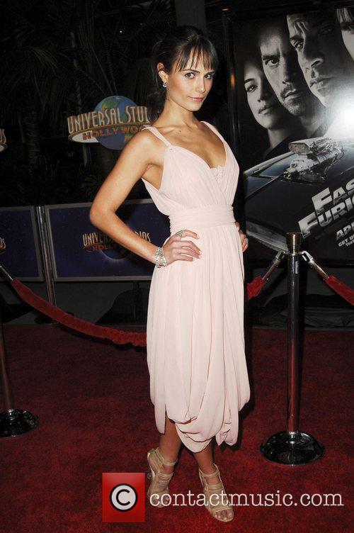 Jordanna Brewster World Premiere Of 'Fast & Furious'...