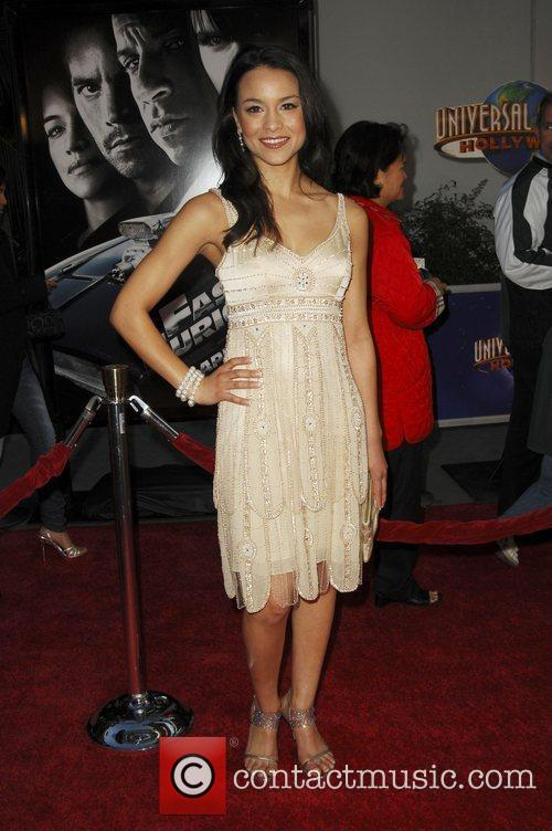 Maya Stojan World Premiere Of 'Fast & Furious'...