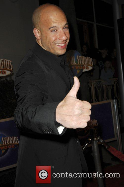Vin Diesel World Premiere Of 'Fast & Furious'...