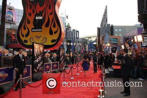 Atmosphere World Premiere Of 'Fast & Furious' held...
