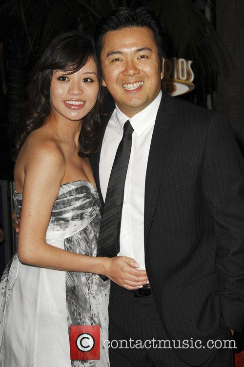 Director Justin Lin and wife World Premiere Of...