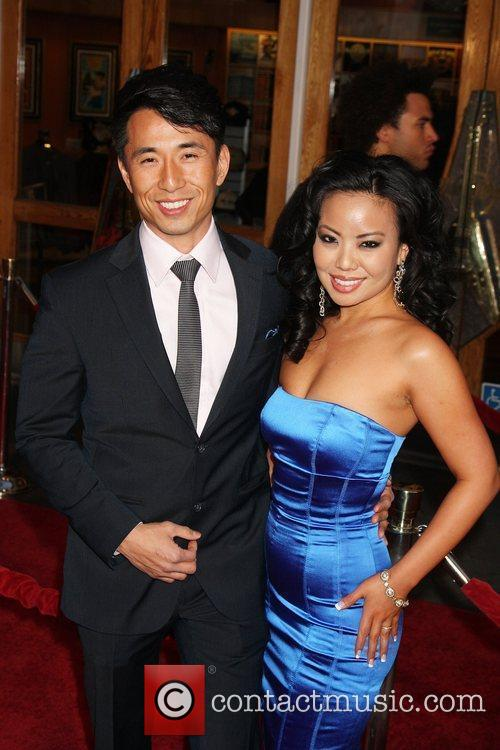 James Kyson Lee and guest World Premiere Of...