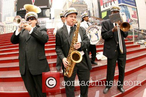 Jambalaya Brass Band Grand Opening of Duffy Square...