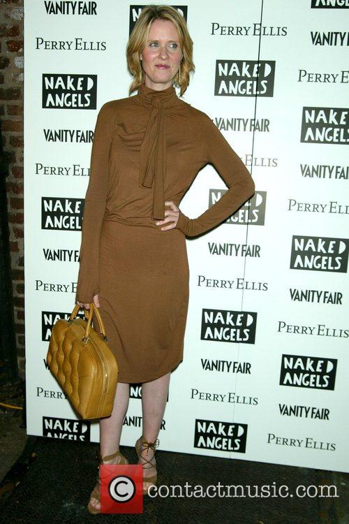 Cynthia Nixon Opening Night of the Naked Angels...