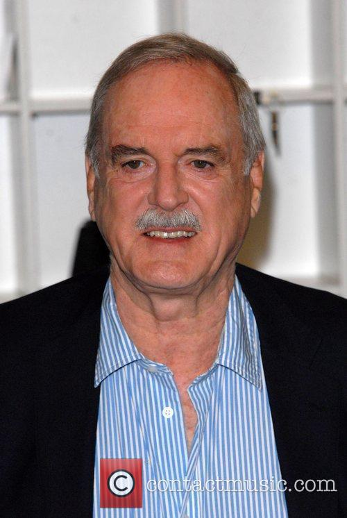 John Cleese attends a press conference to announce...