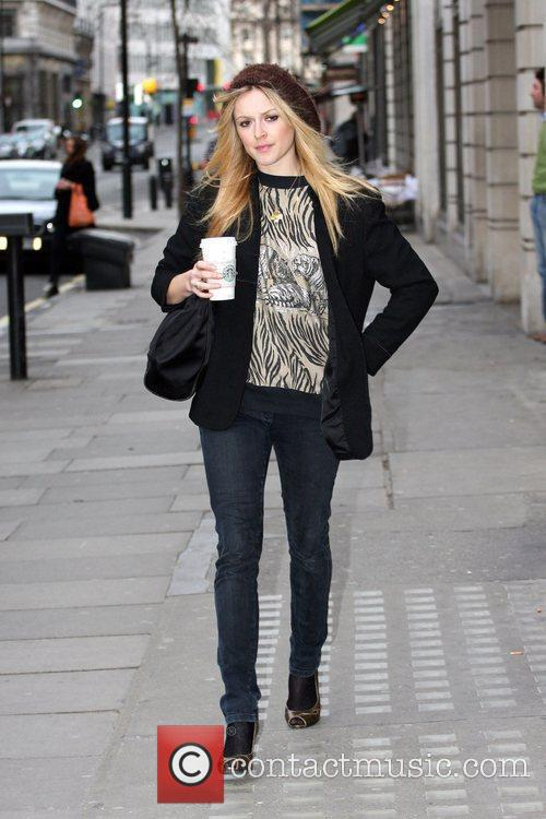 Fearne Cotton  arriving at the Radio 1...