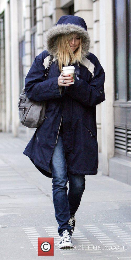 Fearne Cotton arrives at BBC Radio 1 studios...