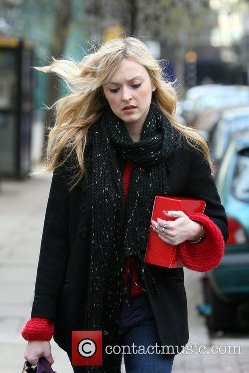 Fearne Cotton  seen arriving at the Radio...