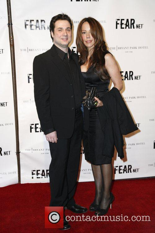 Adam Ferrara and guest FEARnet 2nd anniversary party...