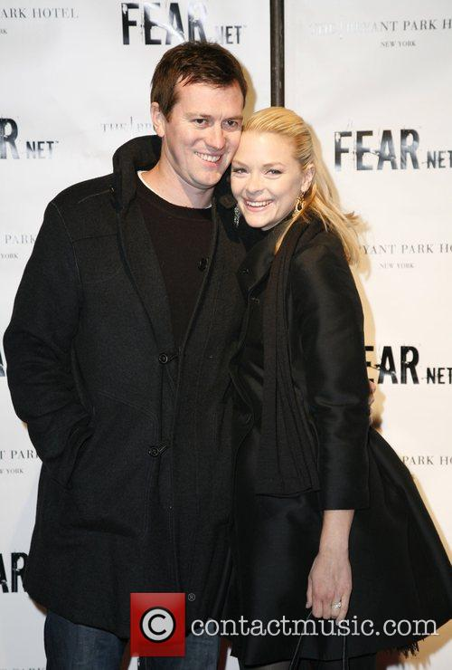 Kyle Newman and Jaime King FEARnet 2nd anniversary...