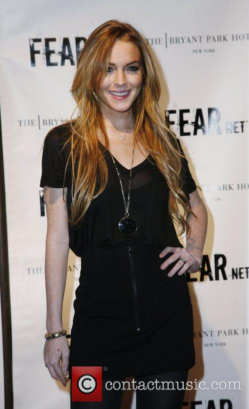 Lindsay Lohan FEARnet 2nd anniversary party at the...
