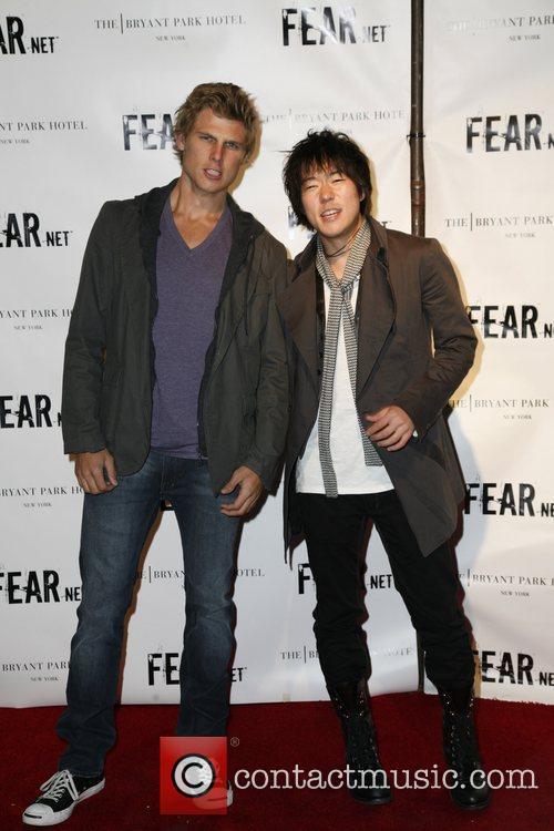 Travis Van Winkle and Aaron Yoo FEARnet 2nd...