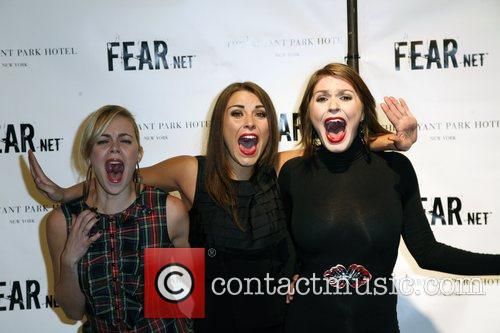 VH1 scream queens, Jessica Padre, Lindsay Felton and...